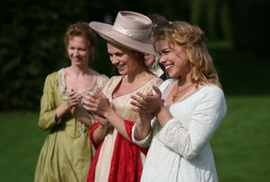 Fanny Price and Mary Crawford in Mansfield Park
