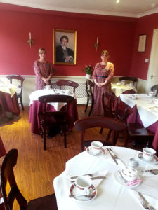 Regency Tea Room menu