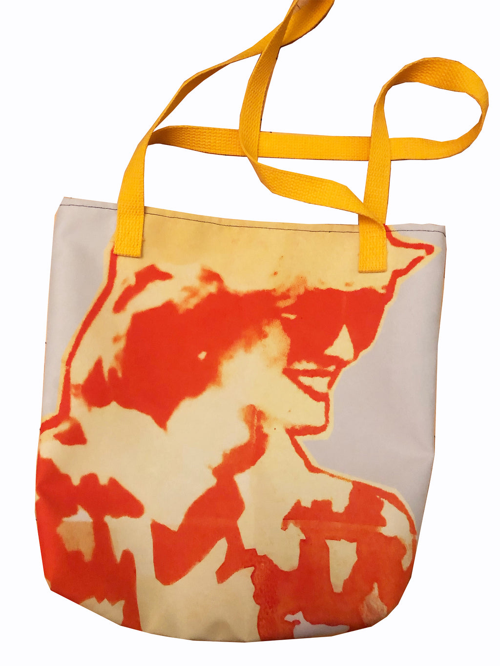 Gold Soundz Tote - Goldengen Print