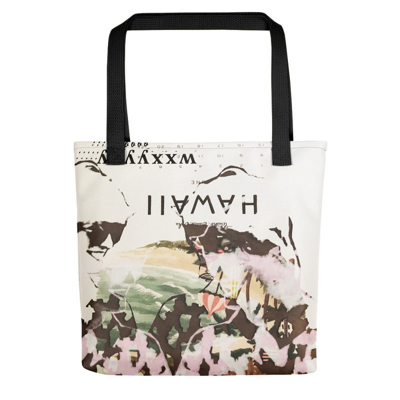 Hawaii Diana Tote - Goldengen Print