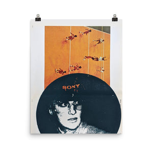 Lucky stars in your eyes - Goldengen Print