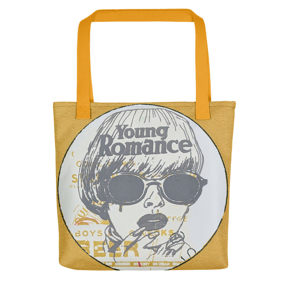 Young Romance Tote bag - Goldengen Print