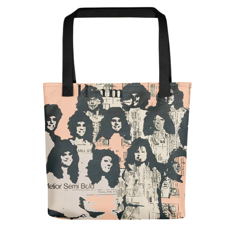 You're everywhere to me Tote - Goldengen Print