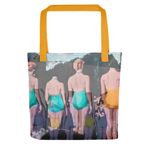 Nyc Tote bag - Goldengen Print