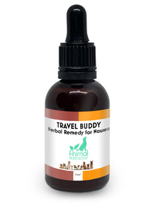 Travel Buddy Dog Car Sickness Natural Remedy