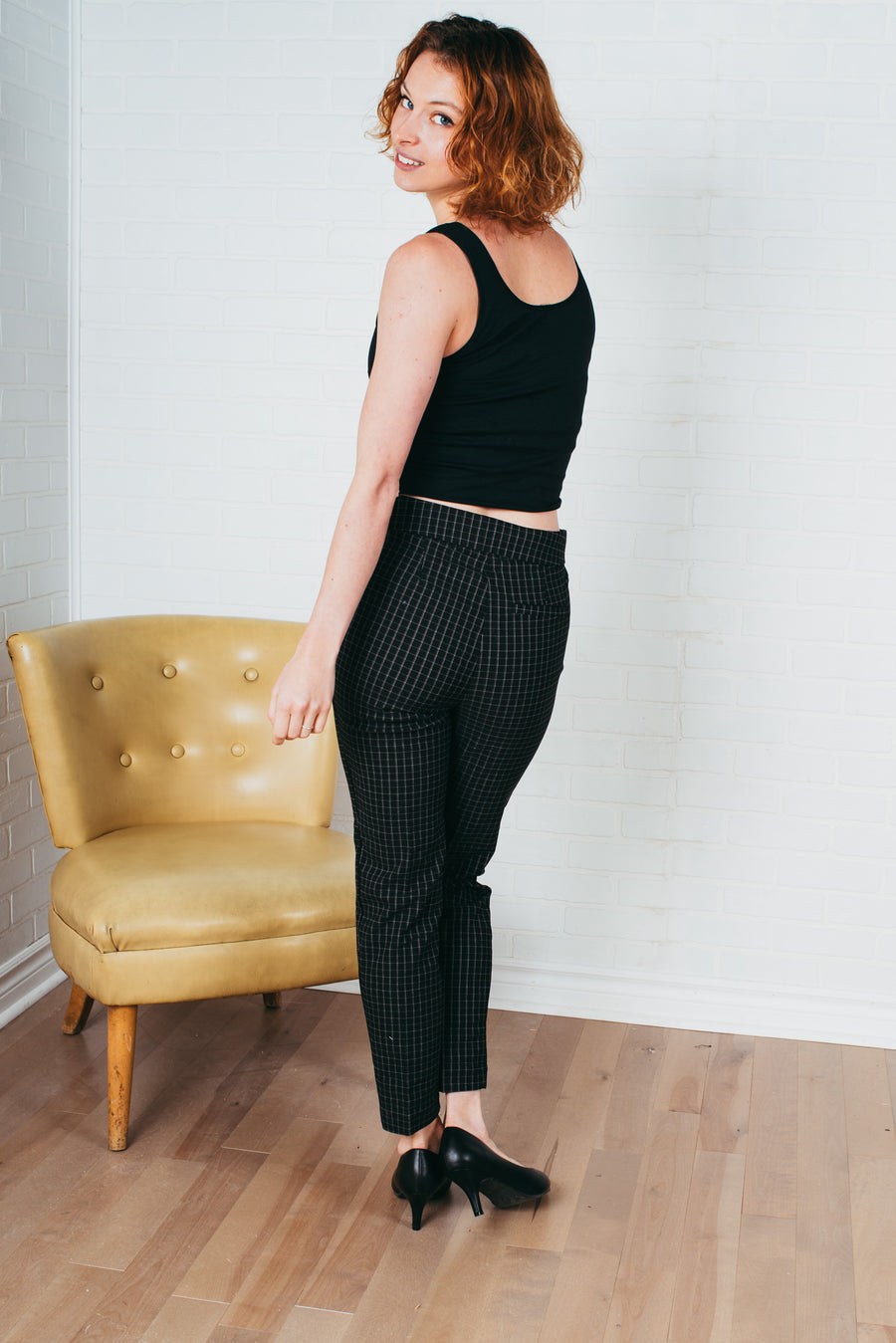 Le tricot col montant/ High neck knitting sweater