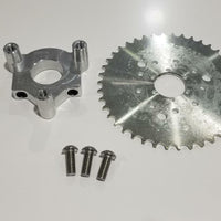 "1.5"" Hub 415 Chain CNC 42T Sprocket With Adapter 49cc-80cc  Motorized Bicycle"