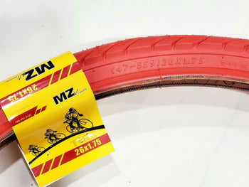 26 X1.75 TIRE BICYCLE (47-559) ONE HIGH QUALITY BICYCLE STREET TIRE 1 INNER TUBE