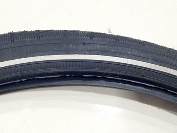 24x1.75 TIRES TWO HIGH QUALITY BLACK BICYCLE STREET  TIRES