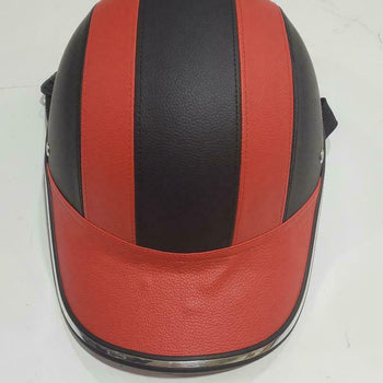 MOTORCYCLE HEAD CIRCUMFERENCE: 62MM, BASEBALL STYLE CAP/ - SIZE: L RED