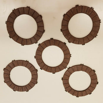 MOTORCYCLE CLUTCH DISC 6V JAWA 350, FIBRA DE CLOCHE DE JAWA 350 ANTIGUO
