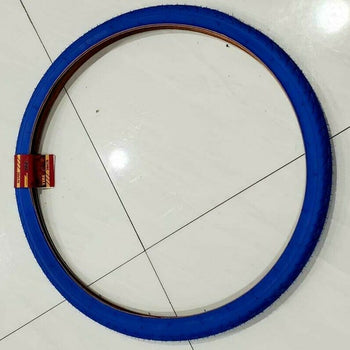 700X38 TIRE (42-622)28X1.75  ONE HIGH QUALITY BLUE  BICYCLE STREET TIRE