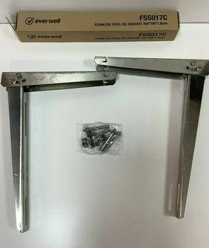 Everwell Stainless Steel 201 Bracket 450*350*1.8mm .Brazo de Split 450*350*1.8mm