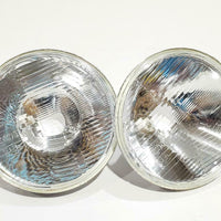 "7""  TWO Headlights H4 Chevy,Ford 55 56 57 JUEGO DE PANTALLAS PARA CHEVY FORD .."