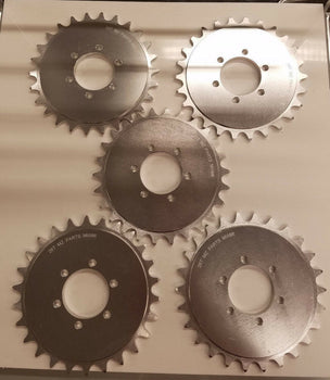 5X PCS MOTORIZED BICYCLE 6 HOLES  26T ALUMINUM CNC SPROCKET