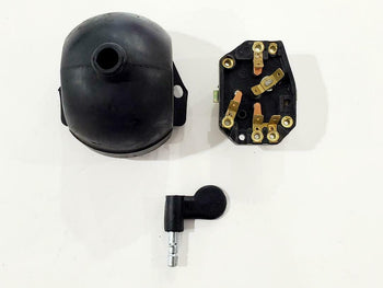 MZ ETZ 250/251 IGNITION SWITCH KEY AND RUBBER , CHUCHO ANTIGUO GOMA Y LLAVE