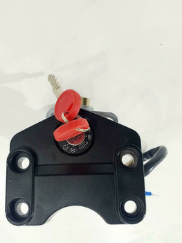 MZ ETZ TS MZ  IGNITION SWITCH AND BASE  CHUCHO DE ARRANQUE MODERNO CON BASE