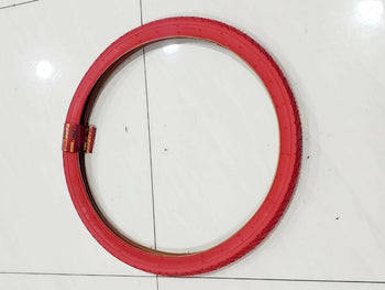 26 X2.125 TIRE BICYCLE  (57-559)ONE HIGH QUALITY RED  STREET BICYCLE TIRE