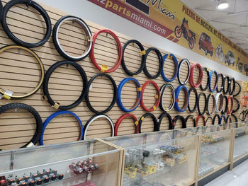 ONE BICYCLE TIRE SUNLT 20x4-1/4 BK/BK ISO:406