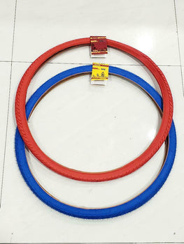 700X38 TIRE (40-622)FITS 29 WHEEL TIRE BICYCLE ONE RED AND ONE BLUE HIGH QUALITY