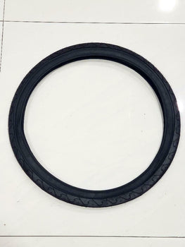 24x1.95 TIRE (50-507) ONE HIGH QUALITY BLACK BICYCLE STREET  TIRE
