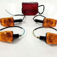 MZ ETZ TS TURNING LIGHTS AND TAILLIGHT SET JUEGO DE INTERMITENTES Y FOCO TRASERO