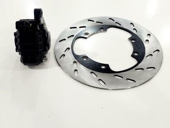 MZ ETZ TS MZ  DISC BRAKE  AND CALIPER, PINZA DE FRENO Y DISCO MZ ETZ TS MZ