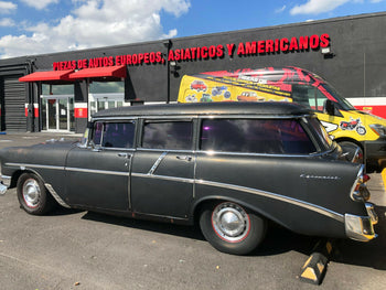 1956-1957 Chevy Rocker Panel, Outer, Driver Side, 4-Door Sedan & Wagon (OS)