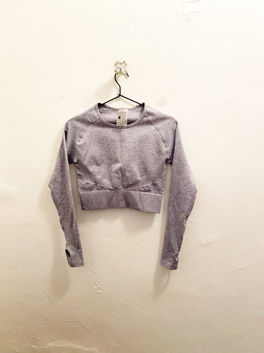 ACTA Long Sleeve Crop Sz Medium