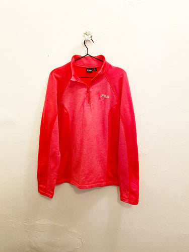 Fila 1/4 Zip Fleece Pullover Sz XL