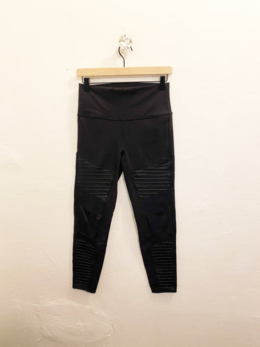 Alo Moto Leggings Sz Large