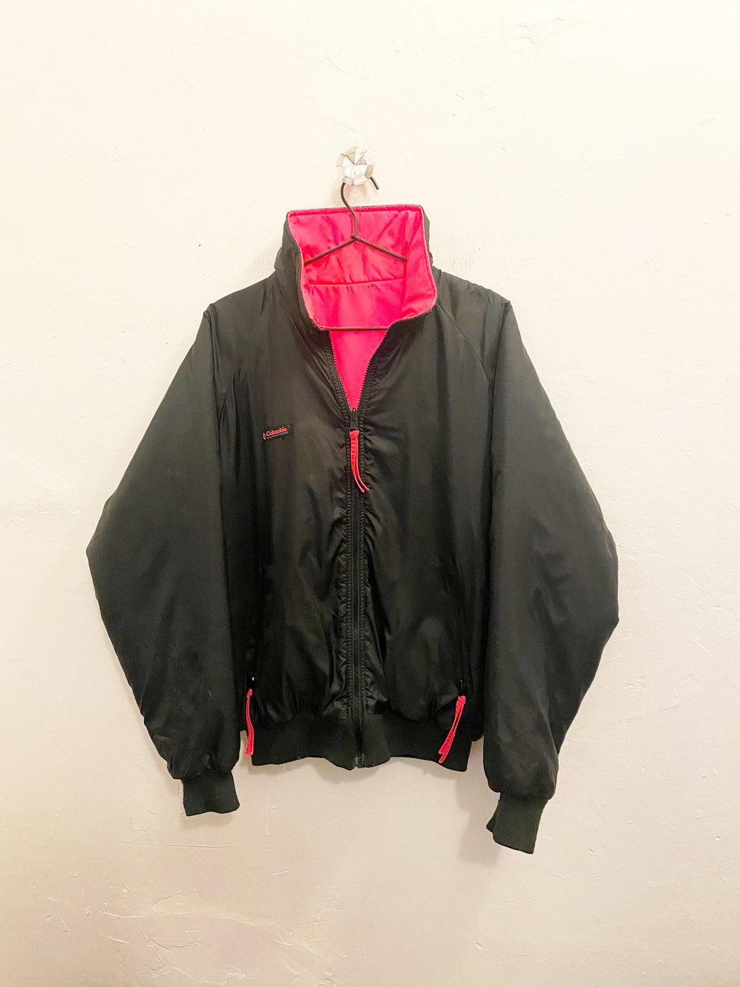 Columbia Reversible Jacket Sz Large