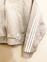 Load image into Gallery viewer, Adidas Zip Up Hoodie Sz Large