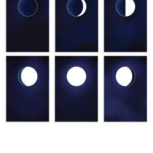Moon Phases Postcard Pack