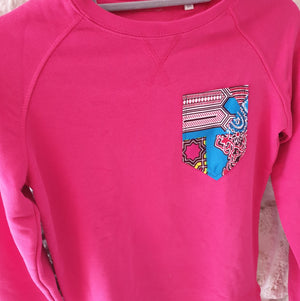 Sweat Gombe Rose - Taille XS