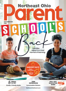 Northeast Ohio Parent Magazine Feature: September 2020 issue