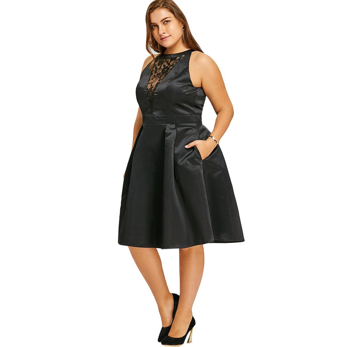 How To Wear A plus Size Dress ?
