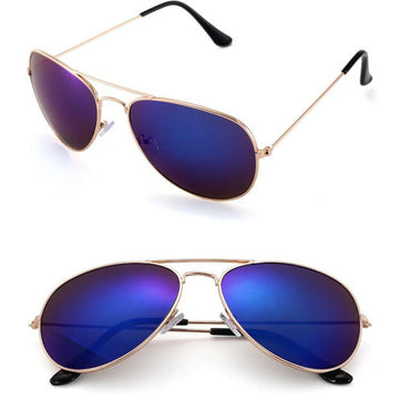 Luxury Pilot Retro Sunglasses
