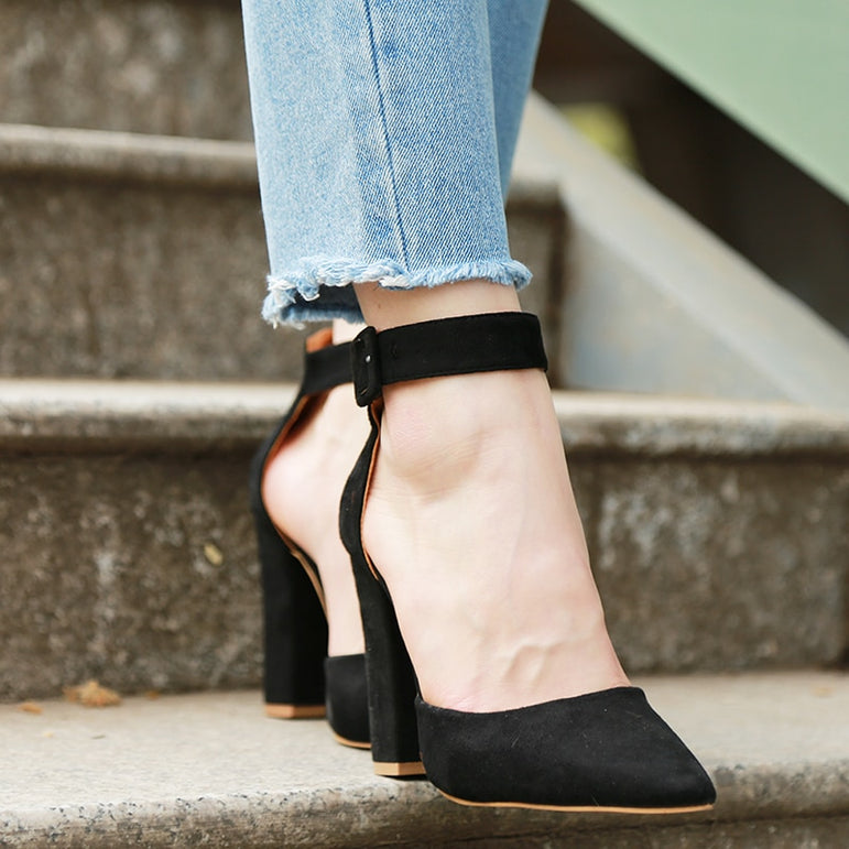 Ankle Strap Classic High Heels
