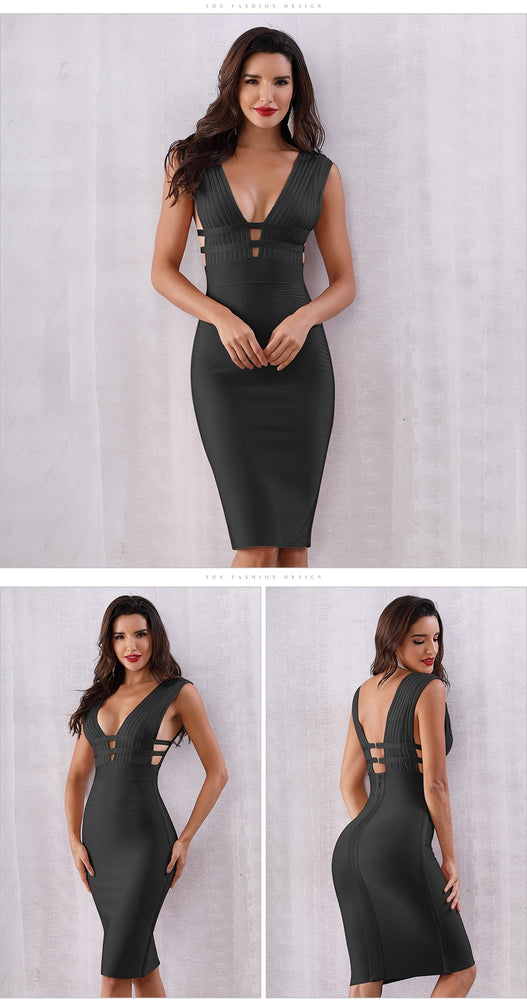 Sleeveless Women Club Dress