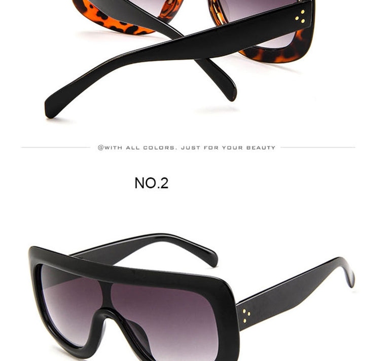 Luxury Big Frame Vintage Sunglasses