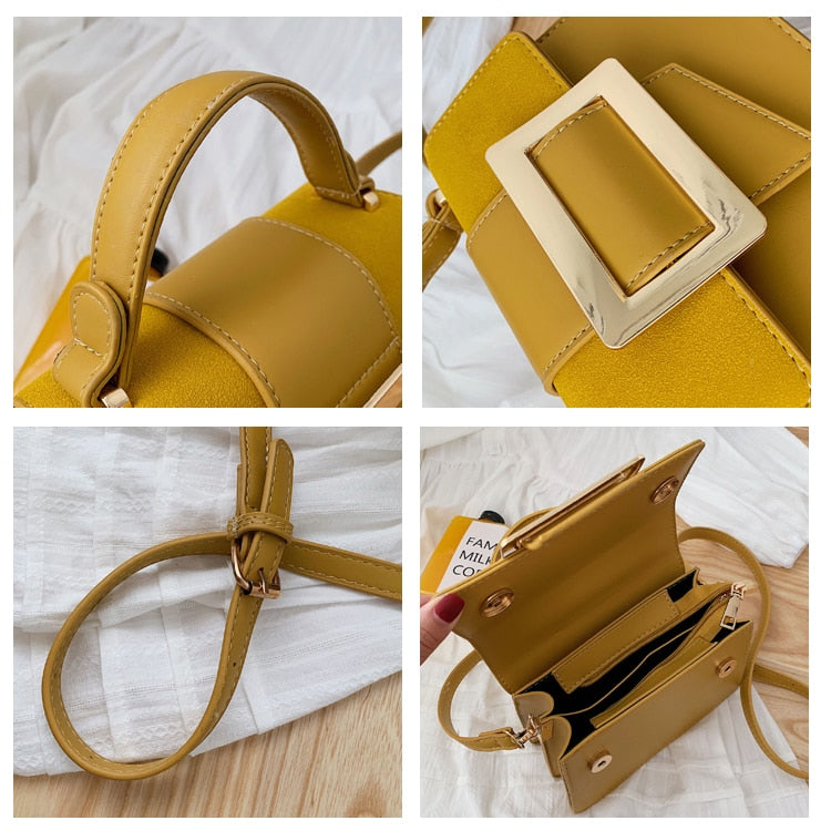 Luxury Leather Crossbody Shoulder Handbags