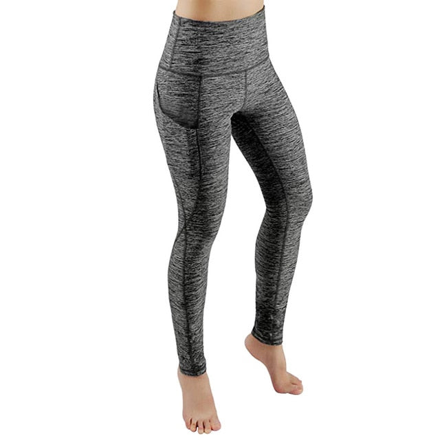 Pocket Shark Gym Training Women's Yoga Pants Leggings