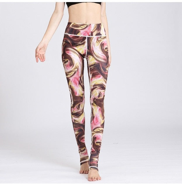 High waist Vintage Slim Fitness Yoga Pants