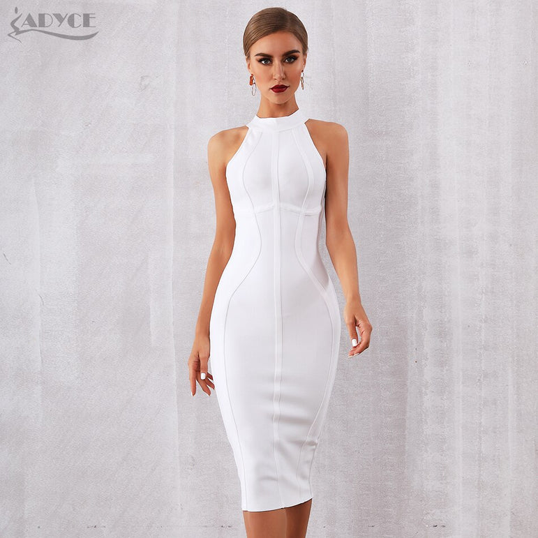 Elegant Sleeveless Bodycon Club Party Dress