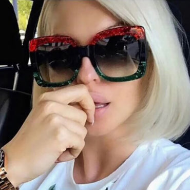 Luxury Women Oversized Square Sunglasses