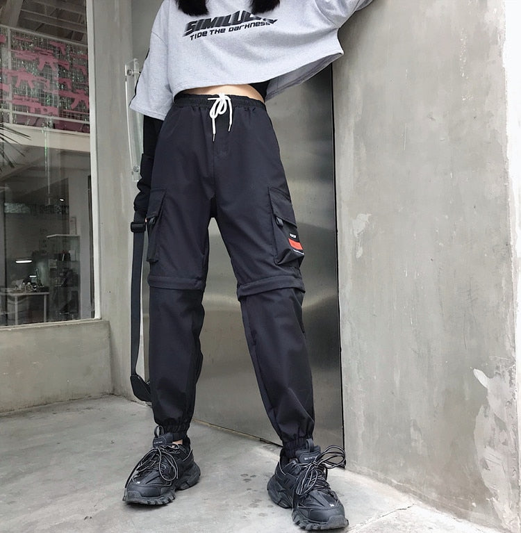 High Waist Pockets Cargo pants
