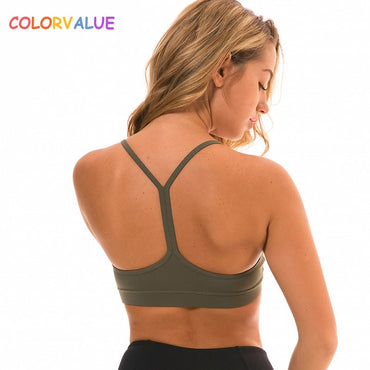 Push Up Anti Sweat Yoga Bra Crop Top