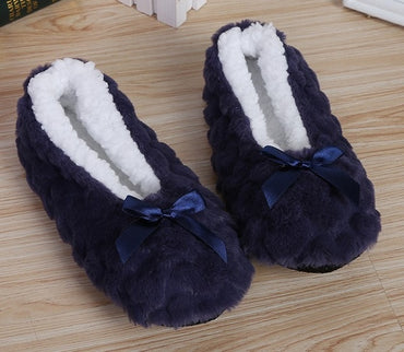 New Cute Indoor Home Warm Soft Plush Slippers