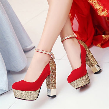 Party High Heel Upper Pumps